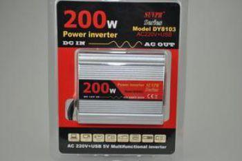 Инвертер 200вт модель DY - 8103