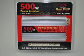 Инвертер 500вт модель DY - 8109