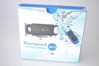 Waterproof MP3 stereo player