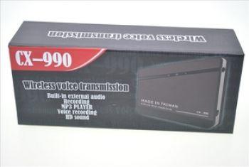 Прослушка радиожучек CX990