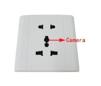 Скрытая камера в розетке
