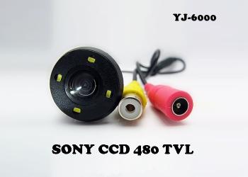 Универсальная врезная камера заднего вида YJ-6000