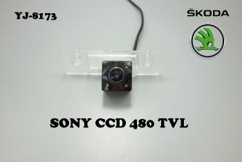 Штатная камера заднего вида для SKODA  OCTAVIA 2008-2012
