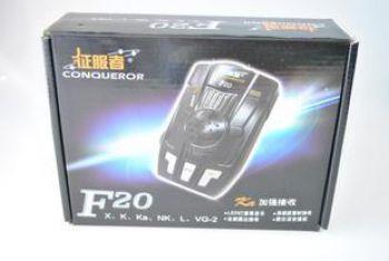 Радар-детектор Conqueror F20