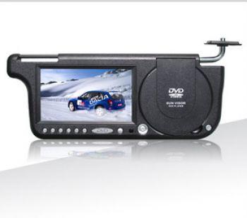 Козырёк со встроенным LCD монитором 7