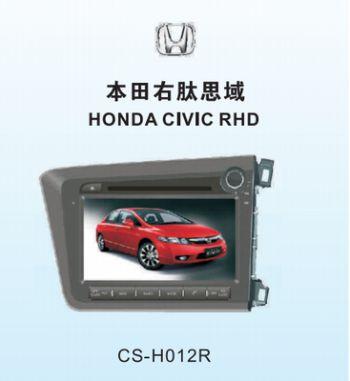 Головное устройство HONDA CIVC 2012