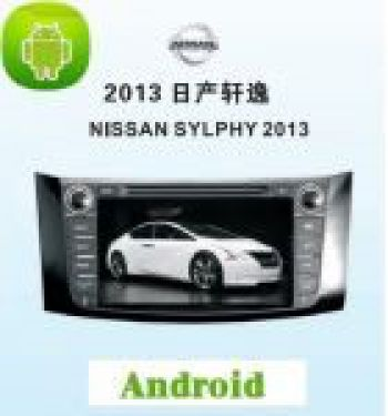 ANDROID СИСТЕМА NISSAN SYLPHY 2012