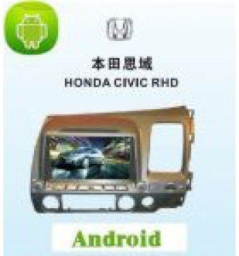 ANDROID СИСТЕМА HONDA CIVIC right driving