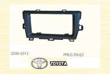 Pамка 2 DIN для TOYOTA PRIUS 2009-2013 черная