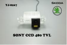 Штатная камера заднего вида для SKODA SUBER B 2009-2013