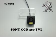 Штатная камера заднего вида для PEUGEOT 207,407
