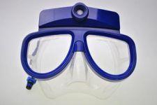 Подводная маска с видеокамерой HD